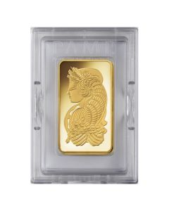 10 oz Pamp Suisse Lady Fortuna Gold Bar In Assay