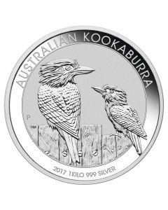2017 1 Kilo Australian Kookaburra Silver Coin