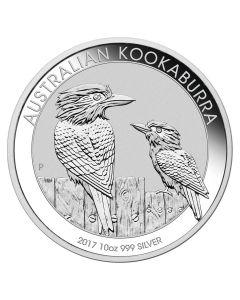 2017 10 oz Australian Kookaburra Silver Coin