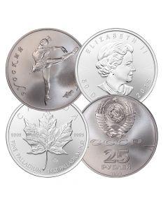 1 oz Palladium Coins - Random Design