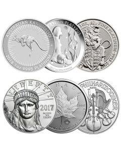 Random 1 oz Platinum Coins