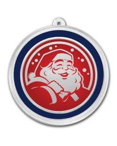 Santa Claus - Silver Holiday Round 1 oz