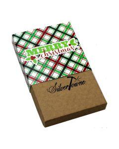 SilverTowne Holiday Gift Box - Merry Christmas (1 oz Bar)