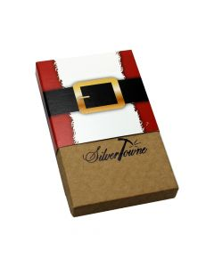 SilverTowne Holiday Gift Box - Santa (1 oz Round)