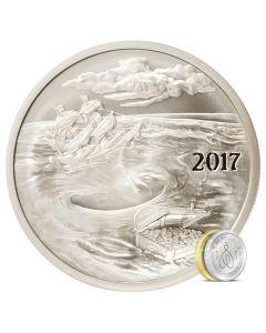 Silverbug Island Whirlpool 1 oz Silver BU