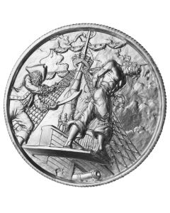Pirate Silver - Walk the Plank 2 oz Silver Ultra High Relief
