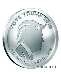 2016 Silver Shield Vote Trump BU - Election Edition