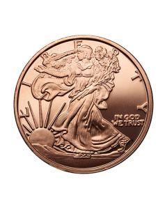 Walking Liberty 1 oz Copper Round - Osborne Mint