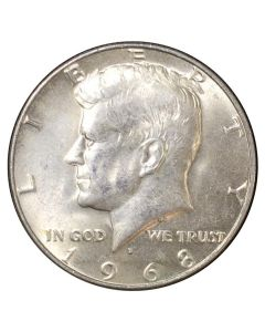 $1 Face - 40% US Silver Kennedy Half Dollars (Circulated)