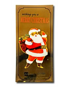 1/10 Gram Gold Aurum Santa Claus Note - (24K)
