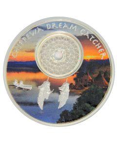 2018 Chippewa Dreamcatcher Proof Silver Coin 1 oz
