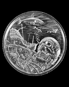 Davy Jones' Locker Privateer Ultra High Relief Silver Round 2 oz