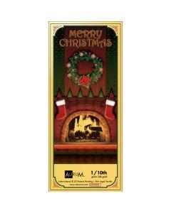 1/10 Gram Gold Aurum Christmas Stocking Note - (24K)