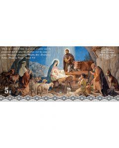 SD Bullion Nativity Scene 5 Gram Silver Foil
