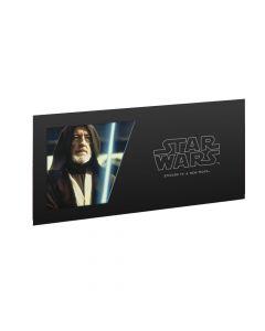 Star Wars A New Hope 5g Silver Foil - Obiwan Kenobi