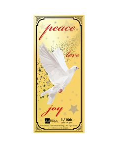 1/10 Gram Gold Aurum Peace Dove Note (24K)