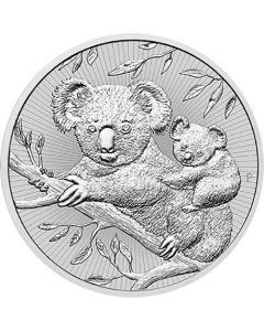 2018 Perth Mint Koala Silver Coins 2 oz - Next Generation Series
