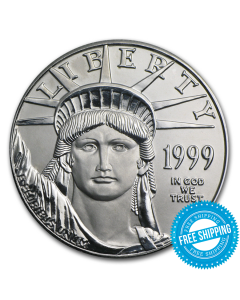 1999 1 oz Platinum American Eagle Coin