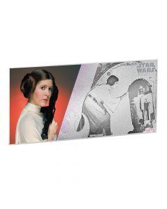 Star Wars A New Hope 5g Silver Foil - Princess Leia