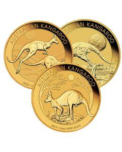 Australian Kangaroo Gold Coin 1/4 oz - Random Year