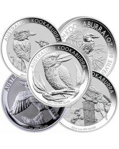 Perth Mint Silver Kookaburra Coin - Random Year