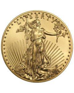 1/4 oz Gold American Eagles - Dates Our Choice