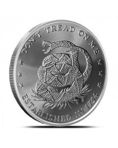 2014 Silver Shield Don't Tread On Me 5 oz Silver Round