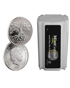 2018 Tree of Life Silver Coin Tube - MintCertified First30™