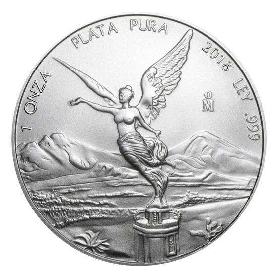 Mexican Mint Silver Libertad Coins