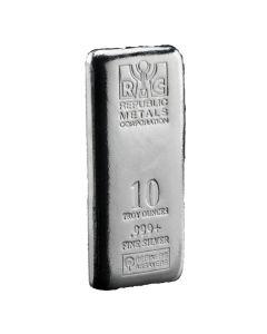 Buy 10 Oz Silver Bars I Lowest Price Guaranteed