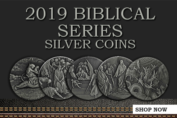 New Release: 2019 Biblical Series Silver Coins