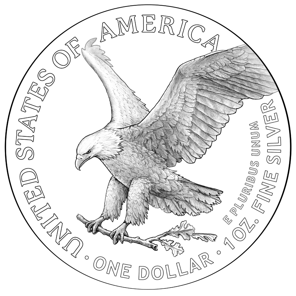2021 Silver Eagle Redesign