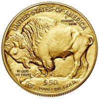 American Gold Buffalos Reverse