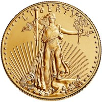 American Gold Eagle Obverse