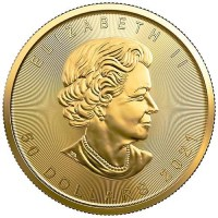 Canadian Gold Maple Leafs Obverse