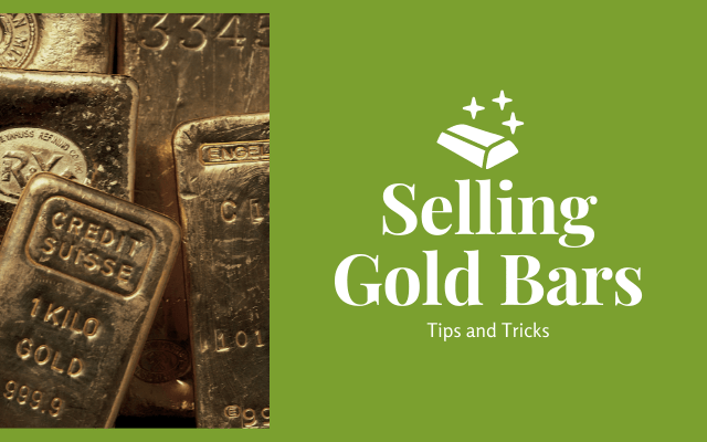How to Sell Gold Bars
