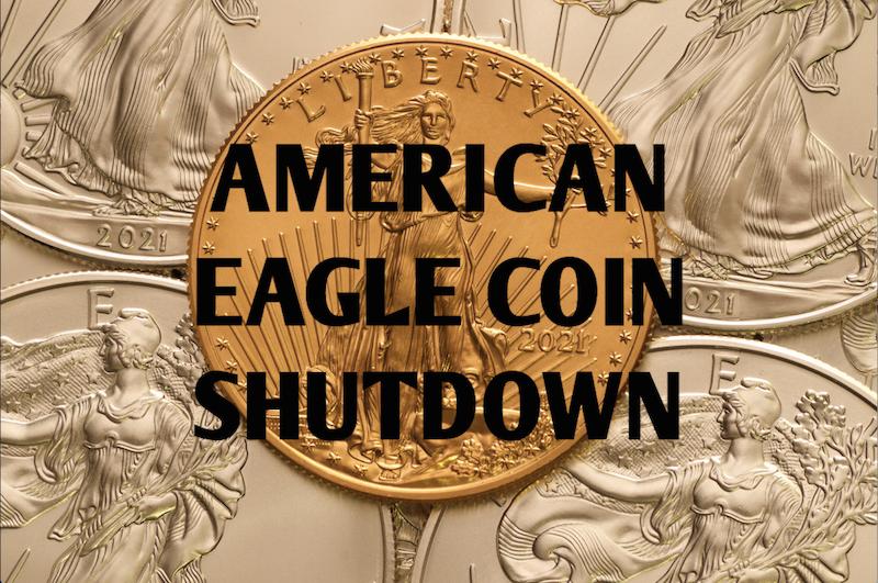 Silver Eagle Coin Shutdown 2019