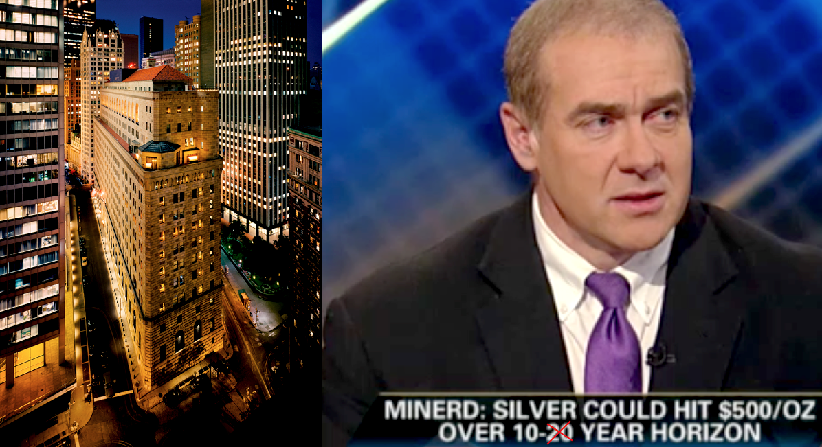 Silver Price Exponential Rise a High Probability NYFed Advisor SD Bullion