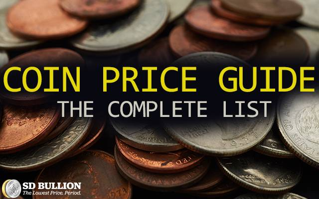 Coin Price Guide - The Complete List
