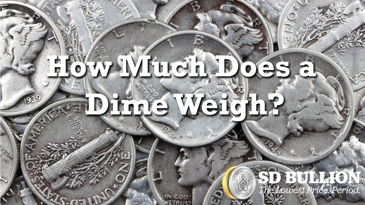 How Much Does a Dime Weigh?