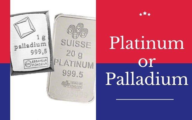 Palladium vs Platinum Comparison