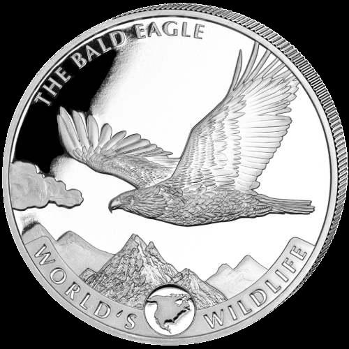 Geiger Bald Eagle Silver Coin