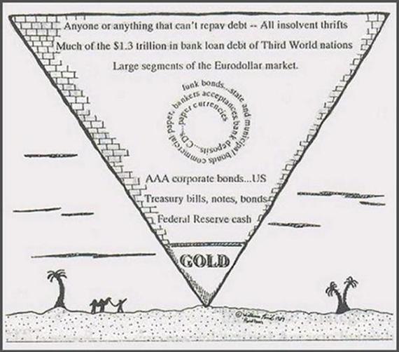John Exter's Original Pyramid
