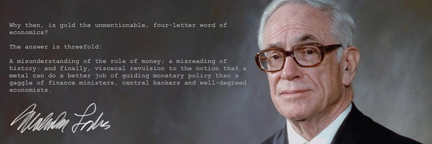 Malcom Forbes Gold Monetary Policy Quote