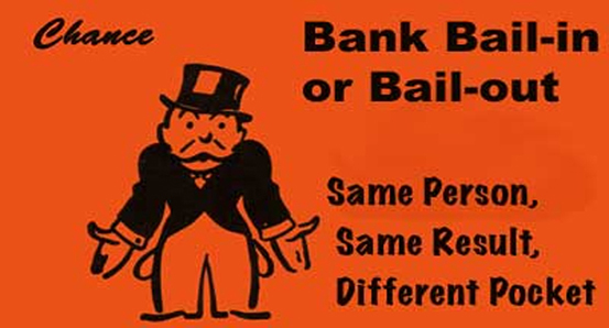 Bail-out vs Bail-in