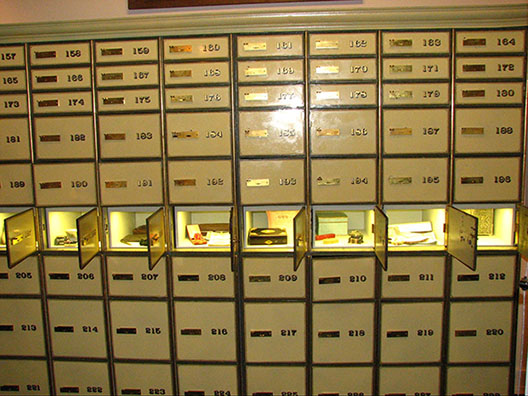 Bank Safe Deposit Box (no FDIC insurance, yet there are 3rd party insurance options)