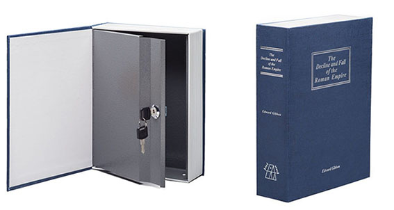 Decoy Safes for Gold come in all Sizes & Shapes