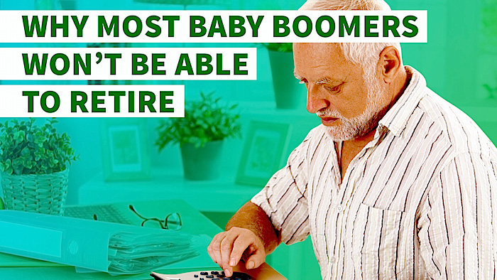 Baby Boomer Retirement Crisis Real Vision RealVision SD Bullion SDBullion.com