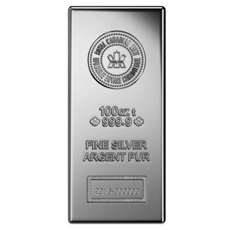 Canadian 100 oz silver bar SD Bullion SDBullion.com How to buy silver wholesale How to buy silver at wholesale prices