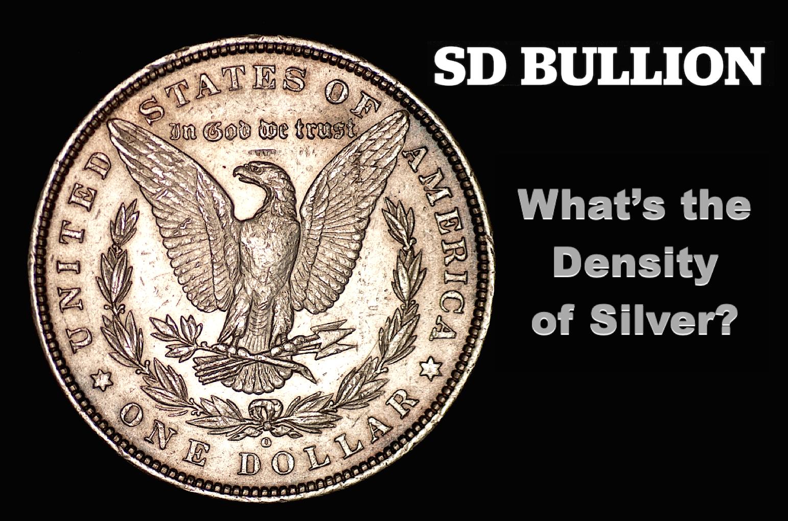 Density of Silver?